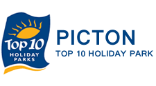 Picton Top 10 Holiday Park Logo Recommends DAs Barn Restaurant And Bar In Picton